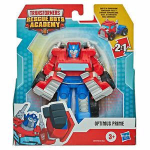 Transformers Optimus Prime Hot Rod Rescue Bots Academy Rescan
