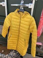 Joules Heathcote Ant Gold Yellow Lightweight Puffer Jacket Coat Rrp £100 size 10