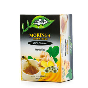 2 x Dalgety Moringa With Ginger Herbal Tea