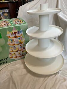 Wilton 4 Tier Dessert Tower Used one time