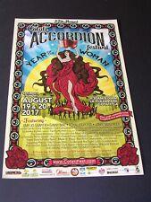 YEAR OF THE WOMAN  Poster ACCORDION FESTIVAL COTATI CALIFORNIA