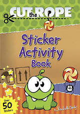 Cut the Rope Sticker Activity Book (Om Nom), SIMON&SCHUSTER CHILDREN'S, New Book