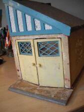 DOLLS HOUSE GARAGE WOODEN 1/12 SCALE