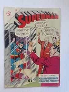 SUPERMAN #426 - ORIGINAL COMIC IN SPANISH - MEXICO - NOVARO