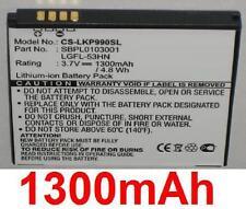 Batterie 1300mAh type LGFL-53HN SBPL0103001 Pour LG P925