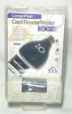 Zio Card Reader/Writer Compact Flash USB Card Brand New NOS Sealed Windows Mac