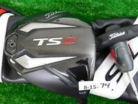 Titleist TS2 10.5* Driver Kuro Kage Black TiNi 50 Regular Graphite w HC & Tool
