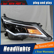 Headlights assembly For Toyota RAV4 2013-2015 Bi-xenon Lens Projector LED DRL