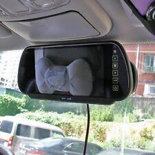 "7"" LCD TFT Screen Car Reverse Rear View Backup Camera DVD Mirror Monitor Black"