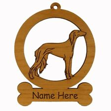Saluki Body Ornament 083846 Personalized With Your Dogs Name