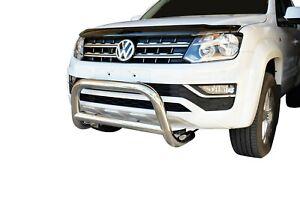 "Bullbar Nudge Bar S/S 304 3"" Grille Bumper Guard for Volkswagen Amarok 2011-20 D"