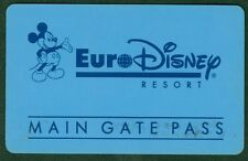 PASSEPORT EURO DISNEY PARIS MAIN GATE PASS TRES  BON ETAT N°33