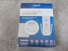 Linksys AC1200 Amplify Dual Band High-Power Wi-Fi Gigabit Range Extender RE6700