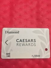 Caesars Rewards Diamond Card Prefix #180 Expires 01/2020