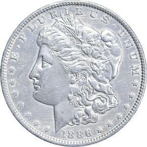Early - 1886 Morgan Silver Dollar - 90% US Coin *359