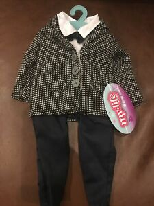 """My Life  As Boy Doll  tuxedo OUTFIT  For 18"""" Dolls New"""