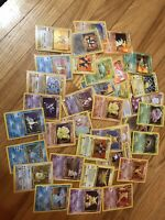 20 Card Pokemon Card Lot. Vintage WOTC Guaranteed 4x Holo. 1x Shadowless