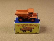 OLD LESNEY MATCHBOX # 28 MACK DUMP TRUCK ORIGINAL BOX