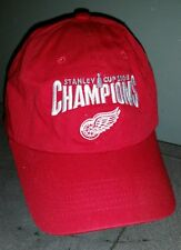 DETROIT RED WINGS STANLEY CUP 2008  V41 HEADWEAR CAP ONE SIZE FITS MOST