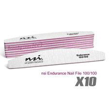 nsi Endurance Nail File 100/100 x 10 Pcs