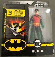 "Batman Robin 6/"" Figure 2016 Damian Wayne DC Comics Mattel Justice League MIB War"