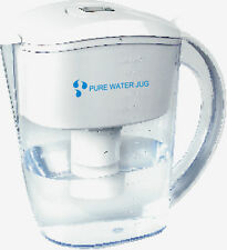 Alkaline Water Ioniser Filter Jug + 4 seven stage filters. Ideal pH of water