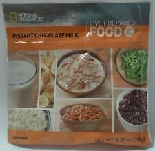 National Geographic MRE - Instant Chocolate Milk - Case = 36 Servings 05-21