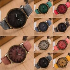 Luxury Women Men Casual Watch Leather Band Cowboy Analog Quartz Wrist Watches