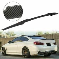 M4 Look Spoiler Wing HYDRO-Dipped Carbon Style For 14-20 BMW F32 428i 435i 440i