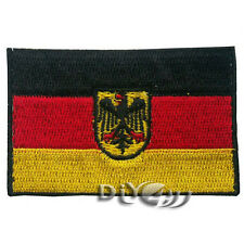 Germany National Flag Patch Embroidered  Sew or Iron on Patch with Insignia