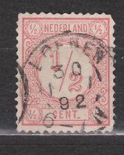 NVPH Netherlands Nederland 30 TOP CANCEL LOENEN Cijfer 1876 Pays Bas