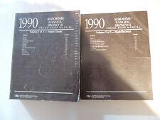 Ford Bronco II Ranger Aerostar 1990 service shop manual Werkstatthandbuch
