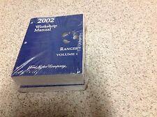 2002 Ford RANGER TRUCK Service Shop Repair Workshop Manual Set BRAND NEW