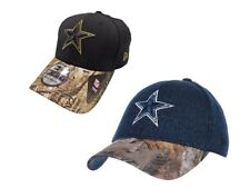 Dallas Cowboys Realtree Performance 39THIRTY Flex Fit Hat - Choose Size/Color