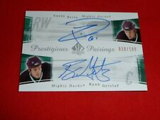 05-06 UD SP Authentic Ryan Getzlaf  / Corey Perry RC DUAL Auto 30/100 RARE!!