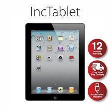 Apple iPad 2 64GB, Wi-Fi + Cellular (Unlocked), 9.7in - Black Free P&P UK