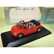 VW NEW BEETLE CONCEPT CAR CABRIOLET 1994 Rouge MINICHAMPS 1:43