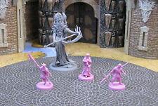 Oni of Spite + 3 Lotus clan minis Rising Sun CMoN Kickstarter D&D monster core