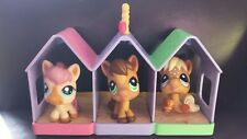 LITTLEST PET SHOP POBY HORSE PETRIPLETS #1879 #1880 #1881