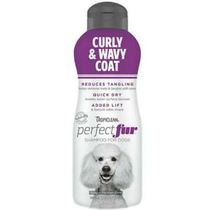 Tropiclean Perfect Fur Curly and Wavy Coat Shampoo