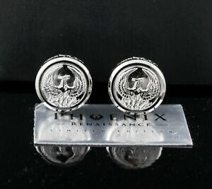 ST Dupont LE Phoenix Renaissance Platinum Plated Cufflinks
