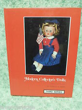 """Doll book, hc:""""Modern Collector's Dolls 3rd series, by P. Smith 1976 rm-260"""