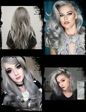 New!! Professional-Permanent-Hair-Dry-Color-Cream-Punk-Light-Grey-BERINA-A21