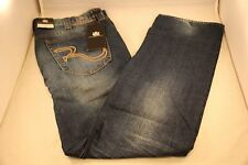 New Rock and Republic VIP Blue Jeans 40 x 32 Slim Straight Light Colburg 0633