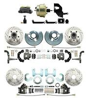 Mopar A, B, E Body Performance Power, Front & Rear Disc Brake Conversion Package