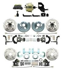 Mopar A, B, E Body Performance Power, Front & Rear Disc Brake Conversion Package