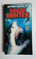 Shark Hunter VHS City Heat UFO 2001 OOP Rare Horror BMovie Antonio Sabato Jr HTF