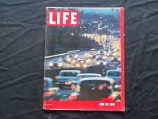 1960 JUNE 20 LIFE MAGAZINE - L.A. FREEWAY - L 1211