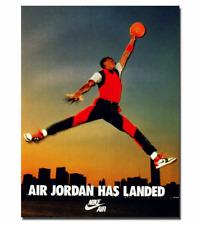 Michael Jordan Shoe MJ 23 Chicago Bulls MVP Silk Poster