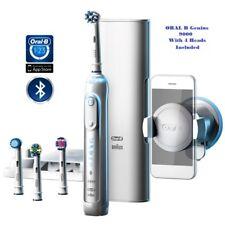 Braun Oral B GENIUS 9000-Bluetooth con 4 Spazzole incluso, il venditore Regno Unito